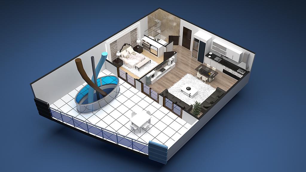 1+1 Apartment