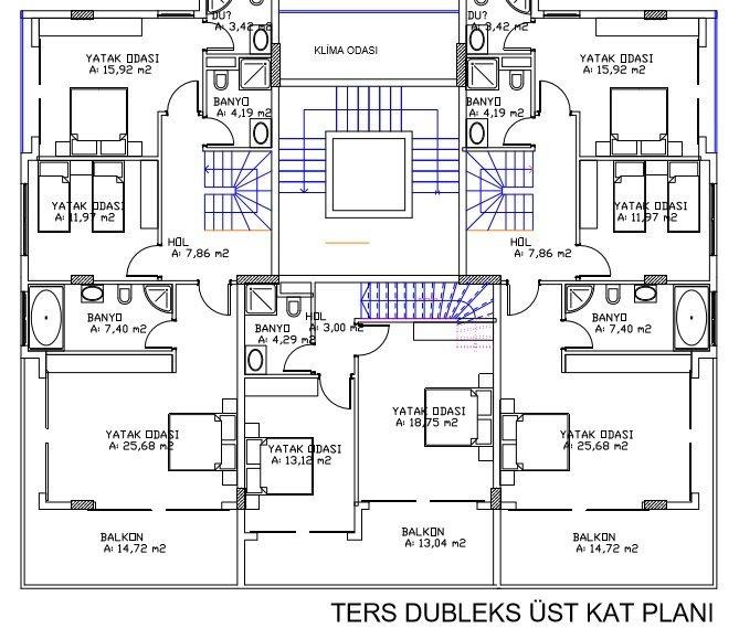 Garden Duplex upper level