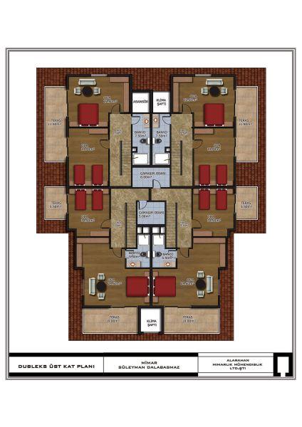 Floorplan Duplex Upper Floor