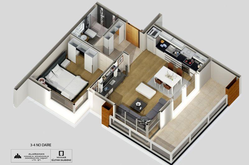 Floorplan Typ B