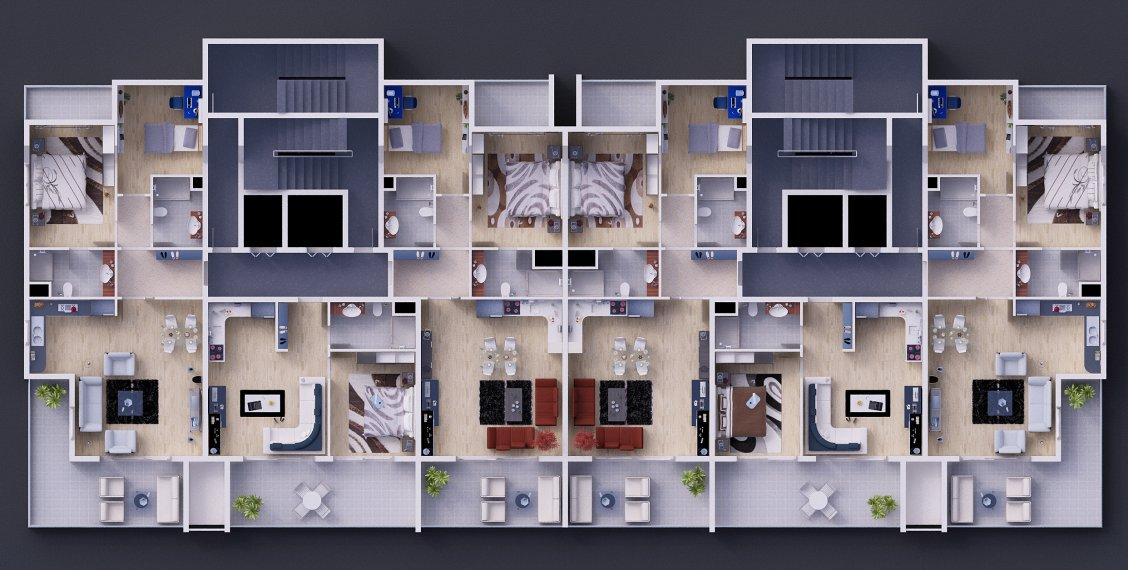 План нормального этажа